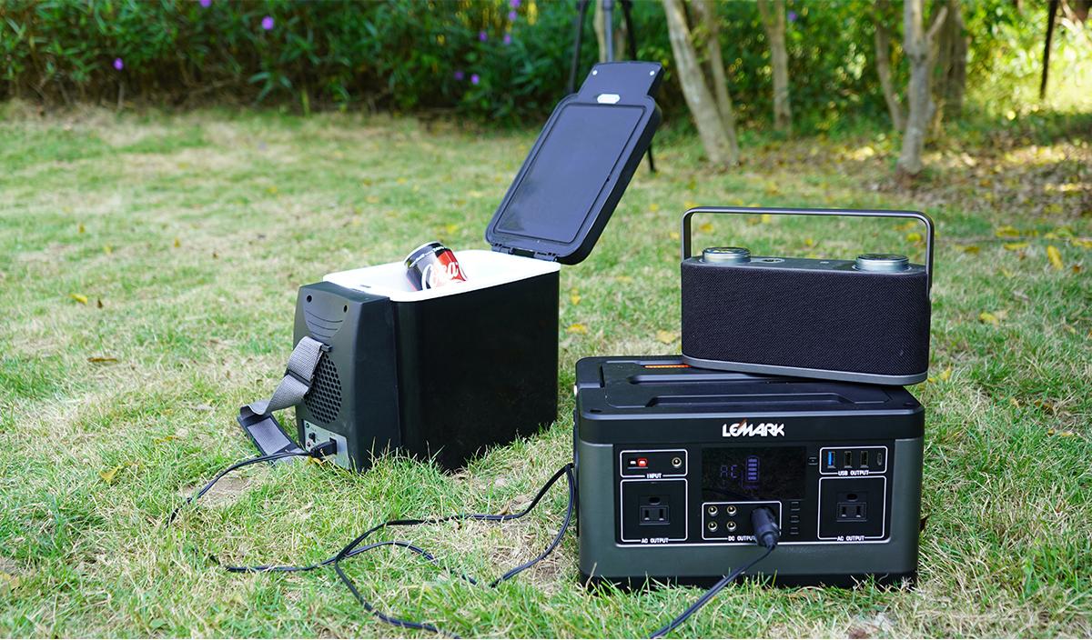 500W Camping Power Pack: Lemark P63 - Lifelighting